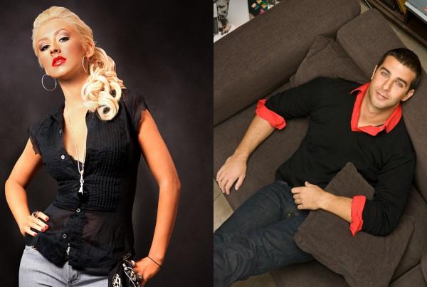 Christina Aguilera 2007 // Иван Ургант , 2008