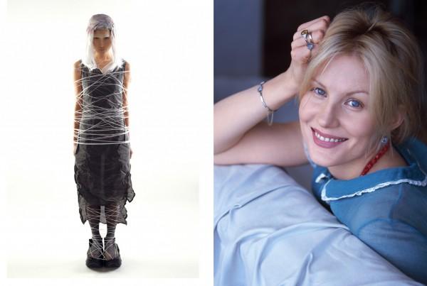 Линда,1999г. // Рената Литвинова, 2004г.