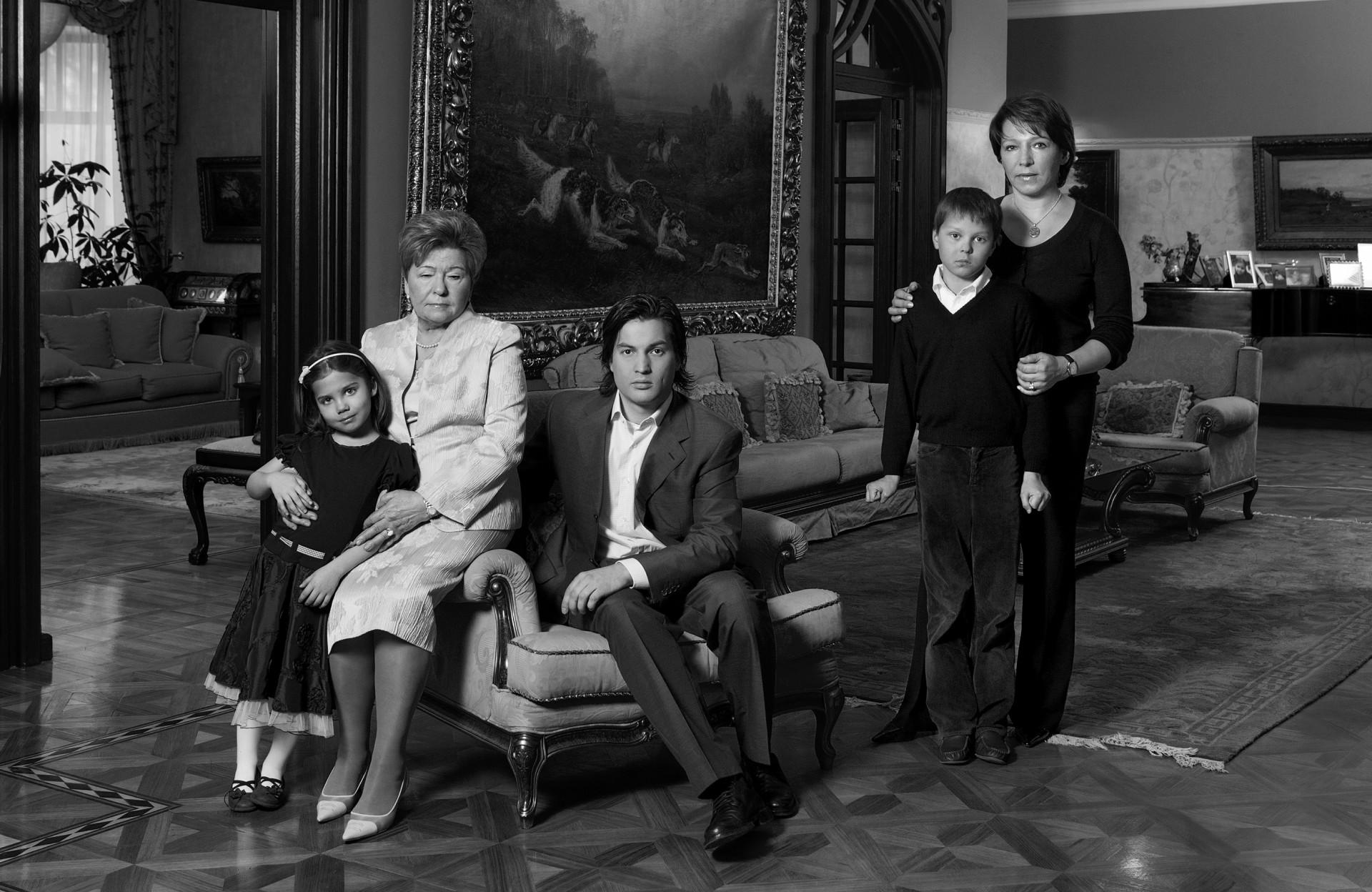 семья Ельциных, 2007 г.